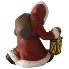 Load image into Gallery viewer, German Santa Claus with Lantern Figurine