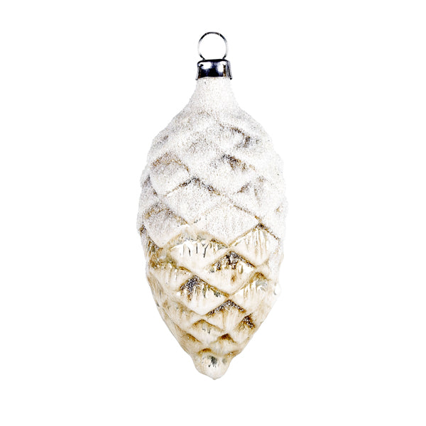 German Glass Pinecone Ornament