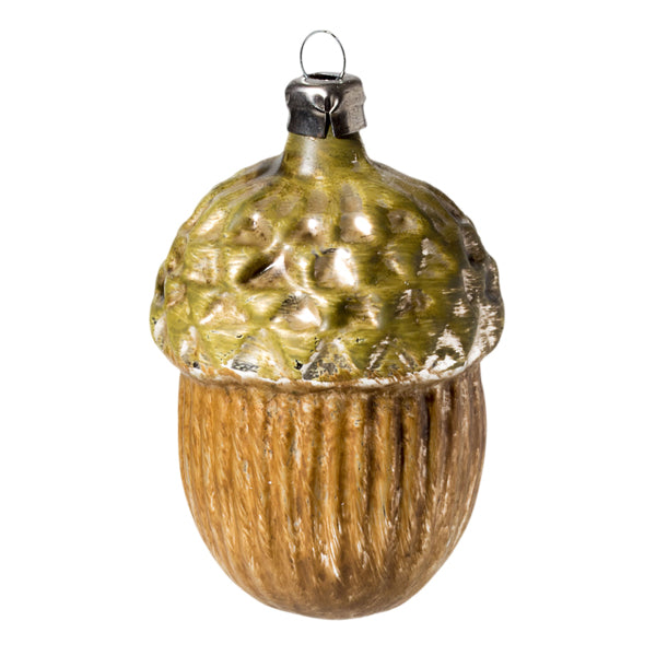 German Glass Acorn Ornament