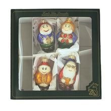 Load image into Gallery viewer, German Glass Snow White Ornament Set