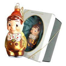 Load image into Gallery viewer, German Glass Pinocchio Ornament