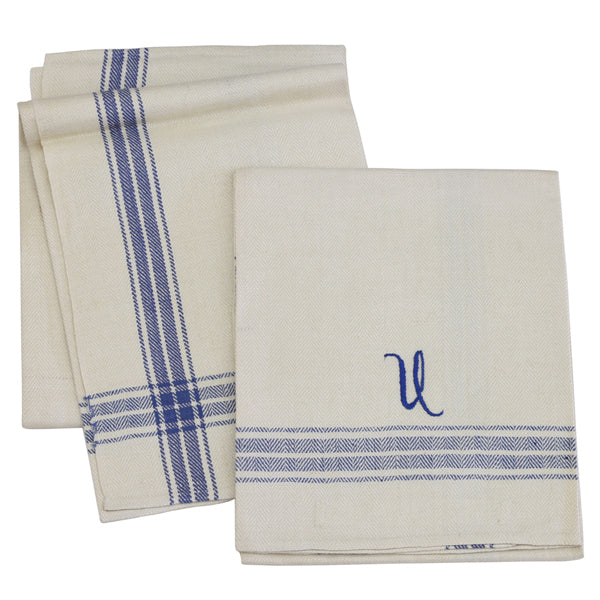 Danish Antique Linen Kitchen Towels