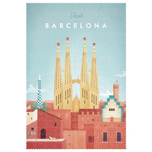 Spanish Tour of Cities Puzzle