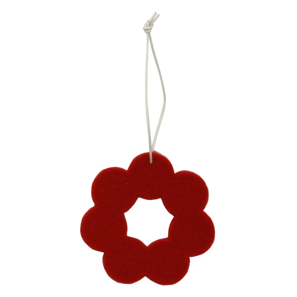 Finnish Felt Ornament Sets – Red Wreaths