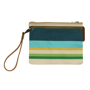 French Canvas Wristlet