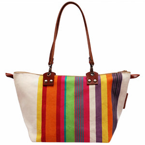 French Canvas Satchel