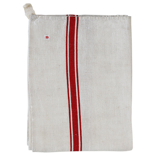 French antique kitchen towel