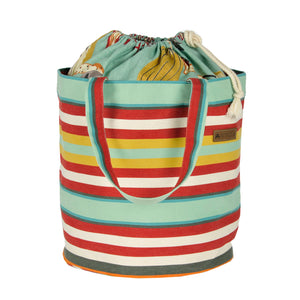 French Cinch-Top Tote