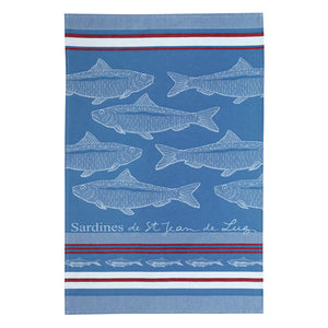 French Kitchen Linens – Sardines
