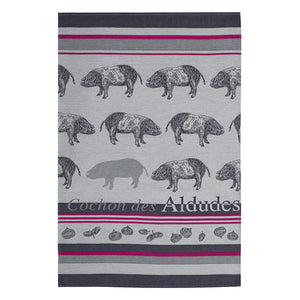 French Piggy Towel