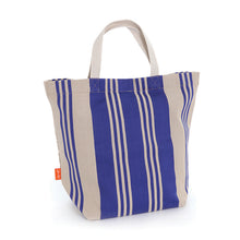 Load image into Gallery viewer, French Blue Stripe Tote