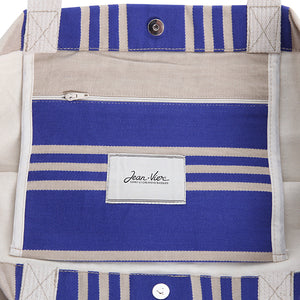 French Blue Stripe Tote