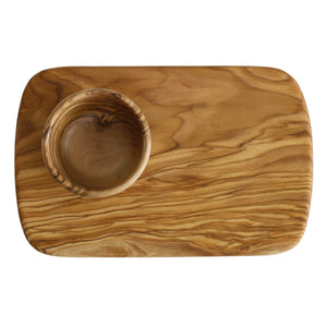 French Olive Wood Snack Sets