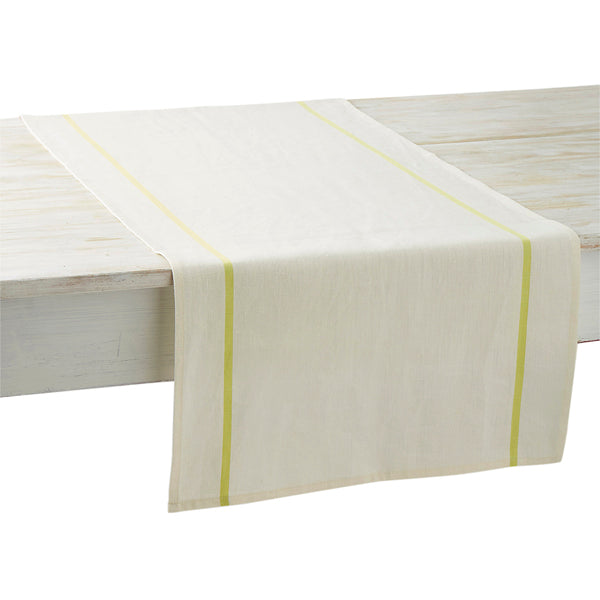 French Table Runner – Lime