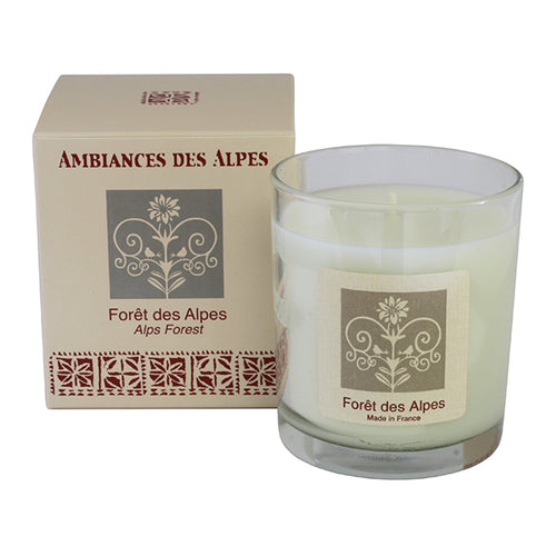 French Alpine Forest candle