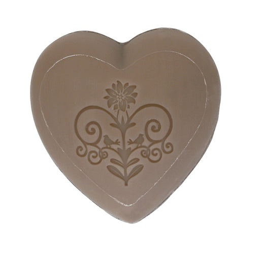 French heart soap