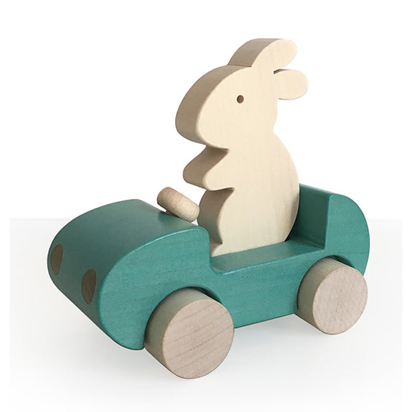 French Bunny Car