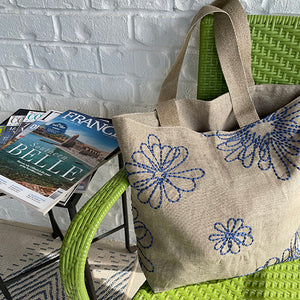 French Blossoms Tote Bag