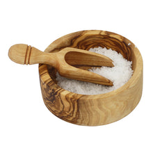 Load image into Gallery viewer, French Olive Wood Salt Cellar