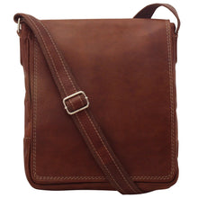 Load image into Gallery viewer, Italian Leather Messenger Bag