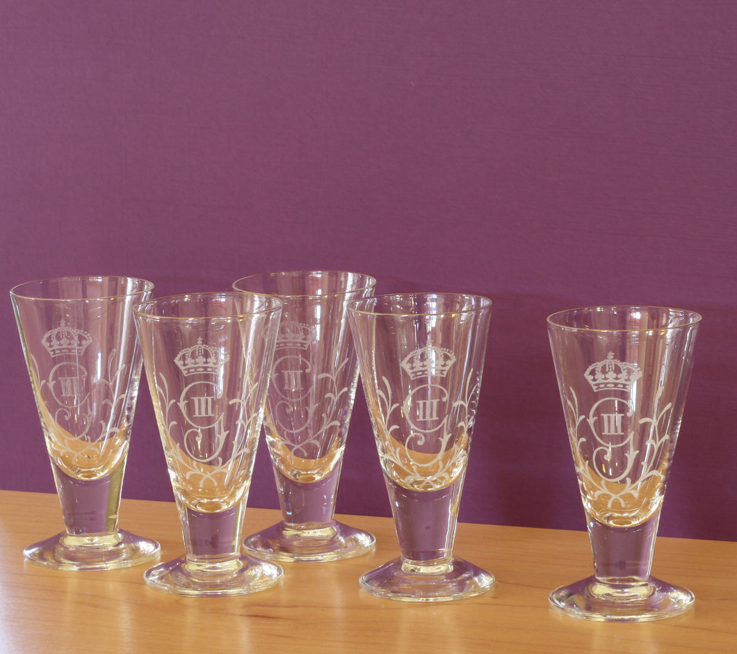Swedish Antique Glasses – Set 3