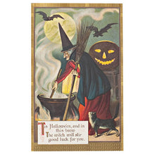 Load image into Gallery viewer, Reproduction  Holiday Postcards - Halloween