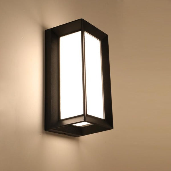 Acrylic LED outdoor wall light