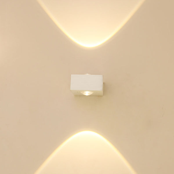 COB outdoor wall light