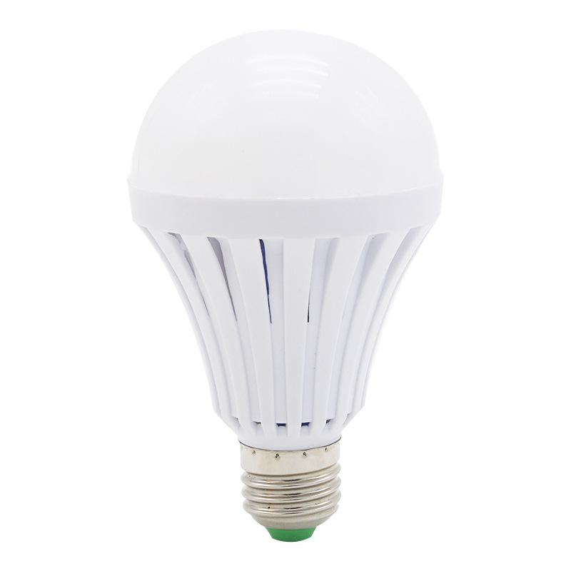 Led rechargeable emergency light bulb