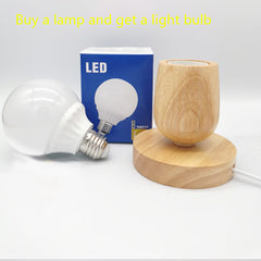 Eye protection wood night light