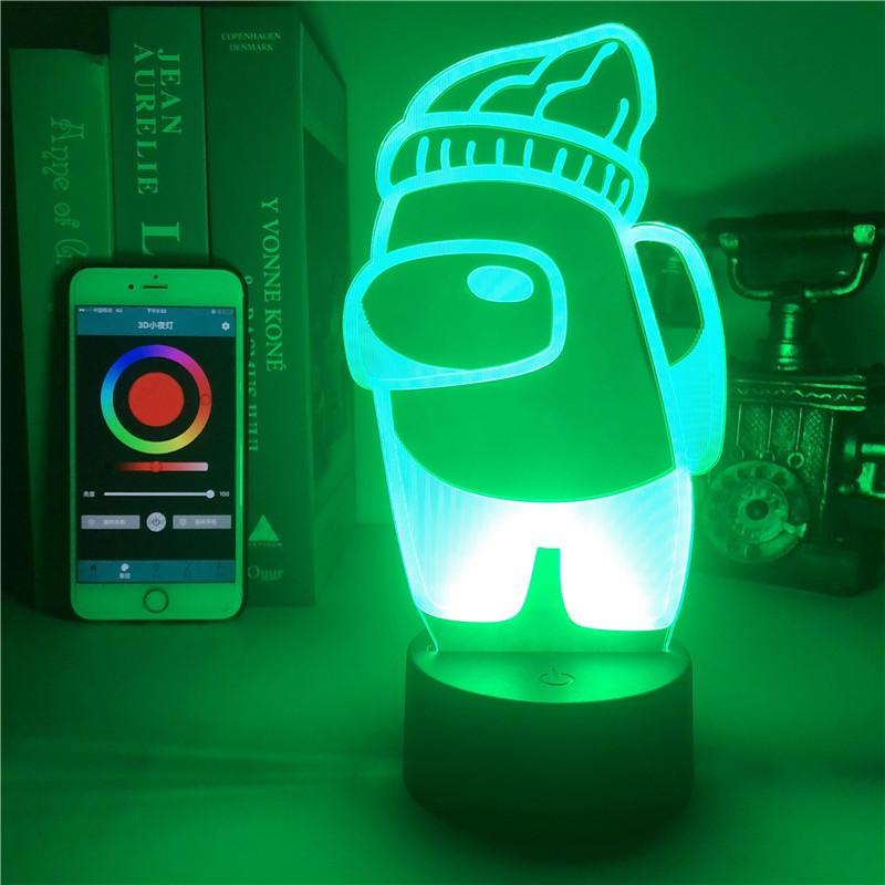Creative Bluetooth Sound Bedside Lamp