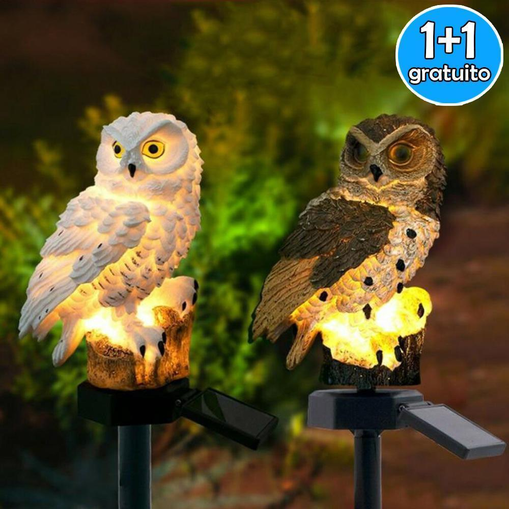 LED solar light owl ( sale)