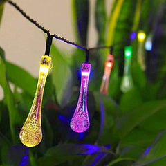 Water Drop Solar Lights