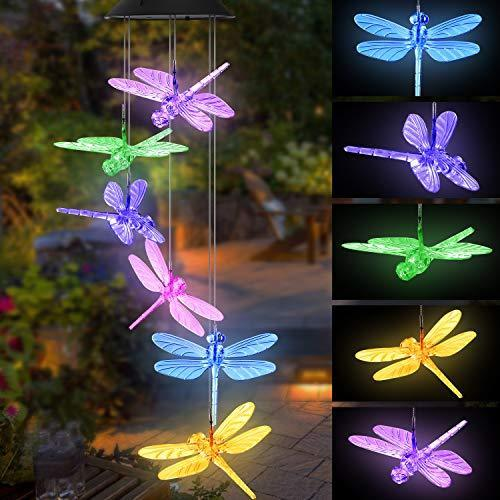 Solar-Powered Dragonfly Lights