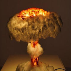 Nuclear Explosion Mushroom Cloud Model Lamp-Light up your house