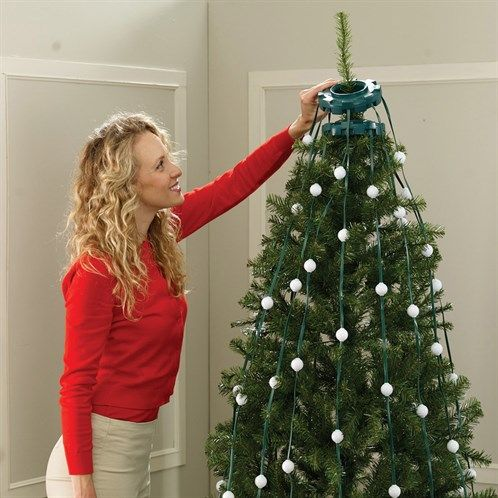 Easy LED Christmas Tree Lights - Surprisingly pretty for decoration