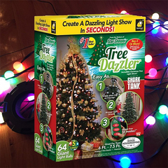 Shimmering Christmas LED Lights