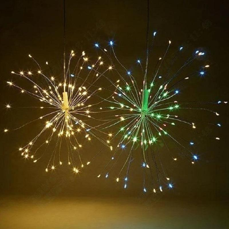 LED Copper Wire Firework Lights