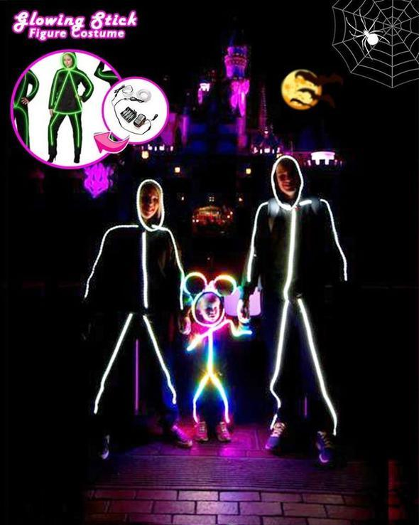 Halloween LED Stick Figure Kit