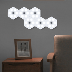 LED Remote control Touch Wall Lamp