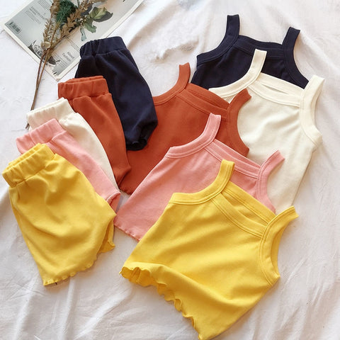 2 Pc Comfortable Tank Set