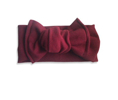 Scarlett Chunky Knotted Headwrap