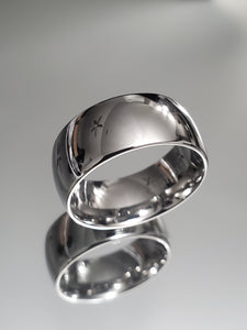 8mm Polished Silver