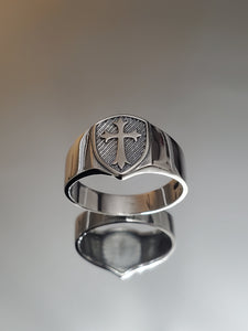 Midevil Times Solid Sterling Silver Ring