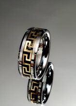 Load image into Gallery viewer, Men's 8mm Greek Band