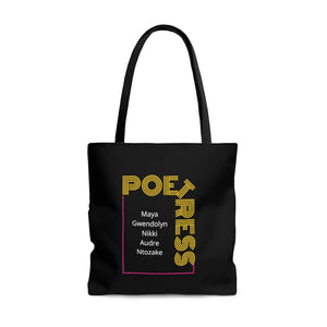 Open image in slideshow, Poetress Tote Bag