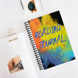 Reading Journal Spiral Notebook - Ruled Line
