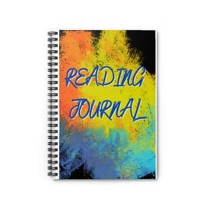 Open image in slideshow, Reading Journal Spiral Notebook - Ruled Line