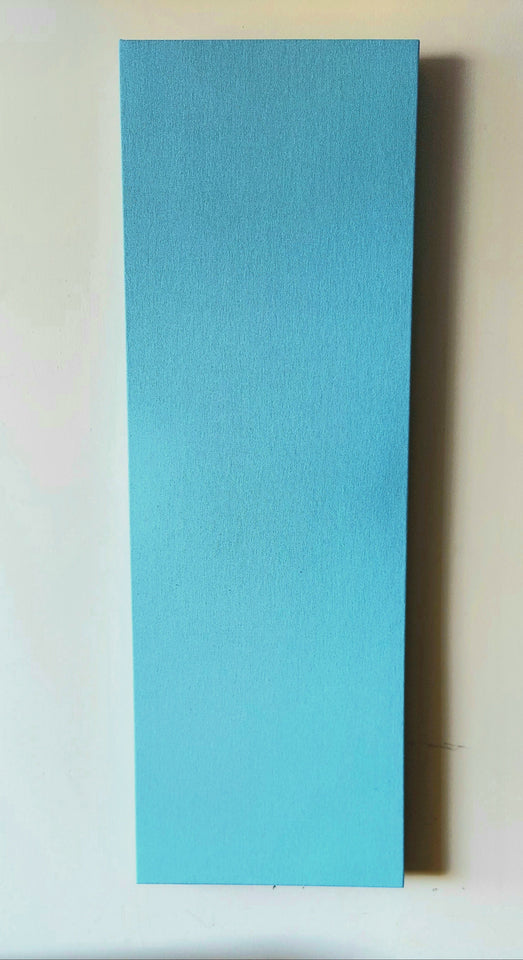 100%DOPE Acoustic Panel, Sky Blue Hemp Canvas, Hemp wool Insulation, Recycled  Plastic Lumber