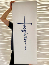 "Load image into Gallery viewer, Dope Acoustic Art Panel ""Forgiven Cross"" - Dope Panels"